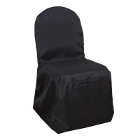Black Banquet Chair Cover