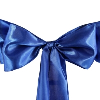 Satin Chair Sashes (Available in different colors)